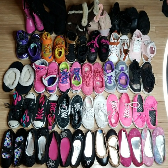 Shoes | Huge Lot Of Girls Name Brand