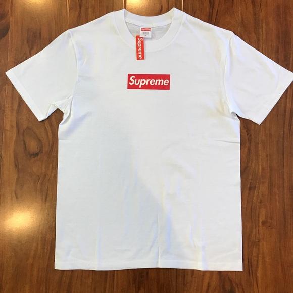 8480234d3e0d Supreme Shirts | 20th Anniversary Box Logo Tee Size M Rare | Poshmark
