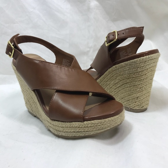 e052436a676 American Eagle Outfitters Shoes - American Eagle Espadrille Cross Band  Wedges