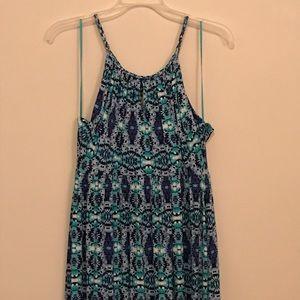Cynthia Rowley empire waisted maxi dress