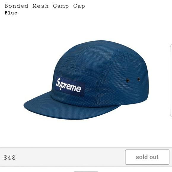 61198a27e80 Supreme Bonded Mesh Camp Cap