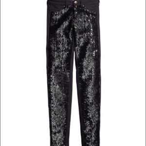 Brand new H&M sequins Pants . NWT.