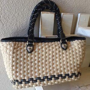 Brighton Straw Purse/Handbag