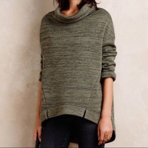 Anthropologie Saturday Sunday Cowl Neck Sweater