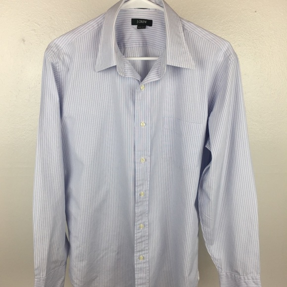 78 off j crew other j crew striped dress shirt size for Size 15 dress shirt