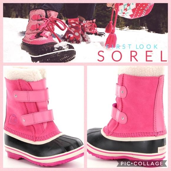 91c16897de9ec NWT Sorel 1964 Pac Strap Boots  Pink  10