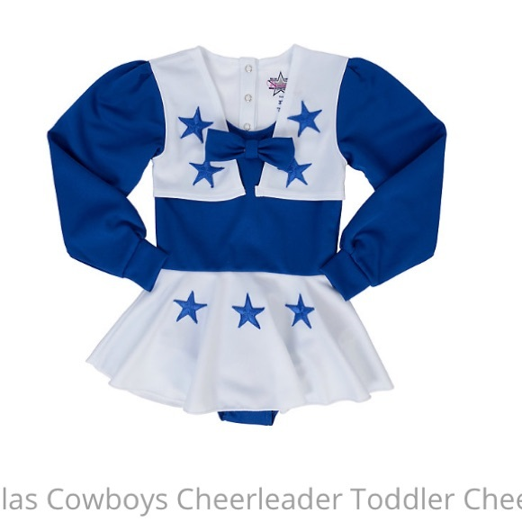 best service beedf 6a243 Dallas cowboy toddler cheerleader outfit