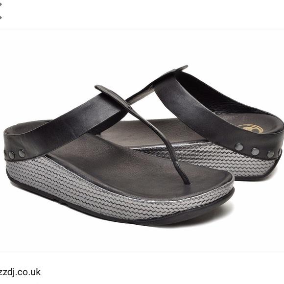 8c36e9757 Fitflop Ibiza Black Sandals
