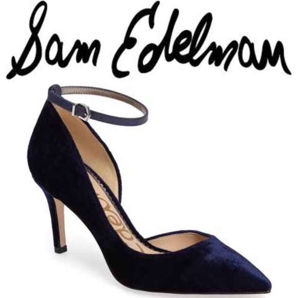 05501d7d34aa SAM EDELMAN Tia Ankle Strap Pump Size 6. M 5a0223ab4127d06121032546
