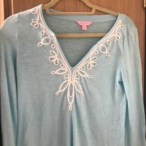 Lilly Pulitzer xs tunic coverup