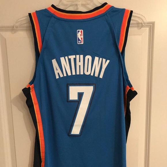 promo code 3b0d4 38412 Brand New Nike Men's Carmelo Anthony OKC Jersey NWT