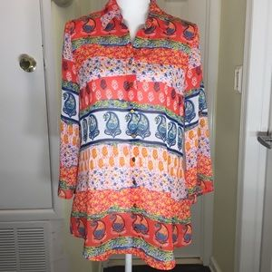 Glance Button Down top size small.