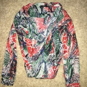 Alligator blouse