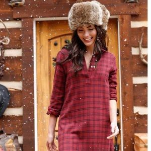 Shabby Apple Flannel Fall Winter Dress