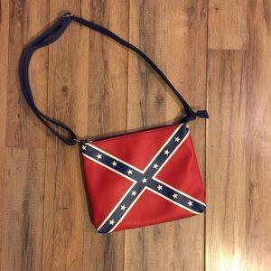 Handbags - Confederate Flag concealed weapons handbag.