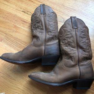 "DAN POST ""Renegade"" Tan Cowboy Boots"