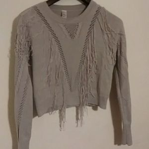 Gray Sweater-Ladies/Juniors Size Large