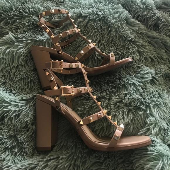 7010fac80 Valentino Rockstud Block Heel Sandals. M_5a022d19ea3f36d1ce037069