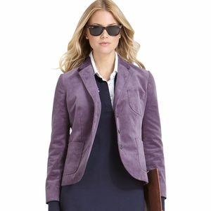 BROOKS BROTHERS purple corduroy blazer 12