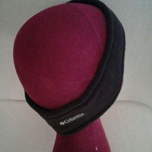 Columbia black unisex earwarmer headband