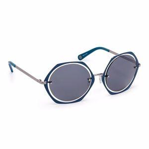 henri bendel Accessories - Henri Bendel Clarissa round blue sunglasses