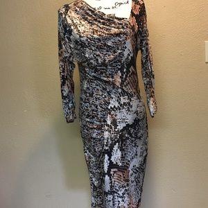 Yansi Fugel fitted dress