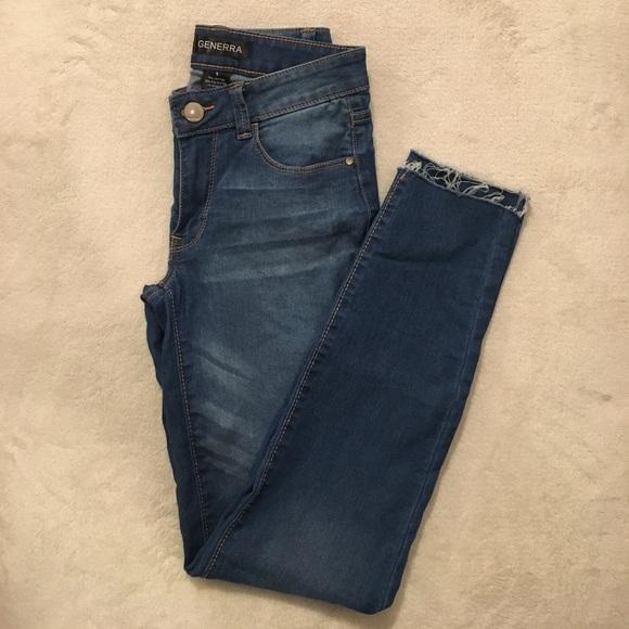 Generra Denim - Generra cutoff skinny jeans size 1