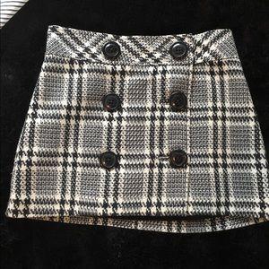 Vintage Express plaid skirt