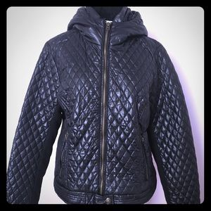 Black Aeropostale Moto Jacket