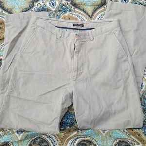 Nautica 33x32 men's khaki pants slacks tan