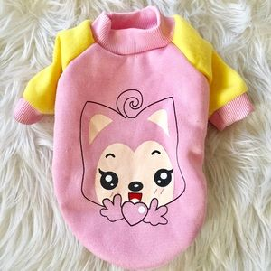 Last price drop -XS Cute warm doggie shirt clothes