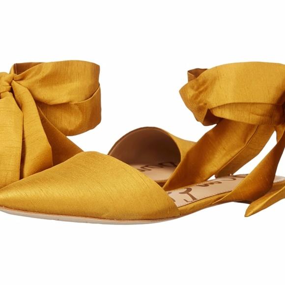 85a7ebf3f Sam Edelman Brandie Yellow Ballet Flat