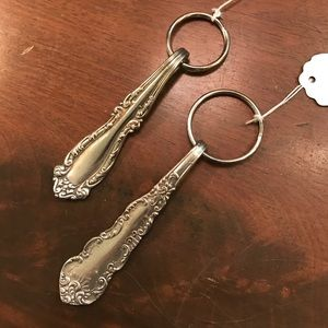 Silver Spoon Upcycled Vintage Keychain!