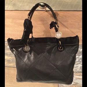 Lanvin quilted leather handbag