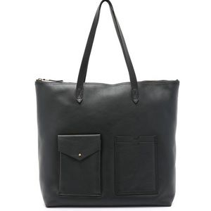 Madewell Zip Transport Tote with Pockets