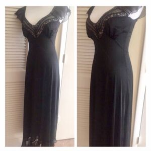 To Die For Vintage Long Nightgown/Going Out Gown