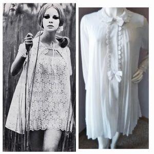 1960's Vintage Nightgown &Robe Set, Bridal!❤️