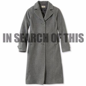 ISO Searching for: Classic Lambswool Polo Coat