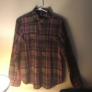 Tops - Chaps size large flannel shirt