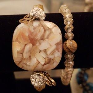 Jewelry - Handmade stone bracelets