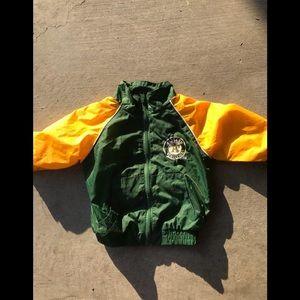 Oakland A's baby jacket