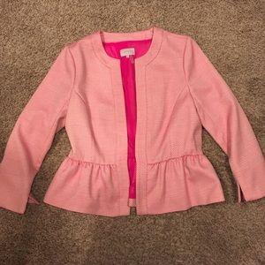 Pink blazer