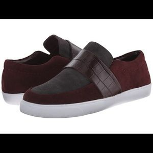 """Clarks Somerset """"Glove Candy"""" Suede Slip Ons"""