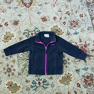 $5 Columbia flannel SweatShirt Jacket.