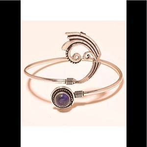 Jewelry - Designer blue lapis bangle
