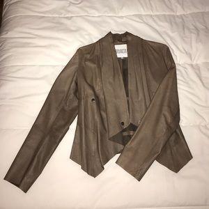 BBDakota 100% real leather jacket M