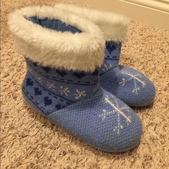 American Girl House Slippers Girls Size 1-3