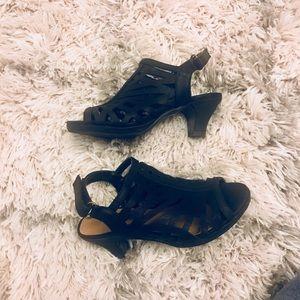 Girl SoDA heel sandal shoes