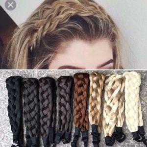 ❤️NEW COLORS❤️ Fishtail Braid Chic Headband Hair