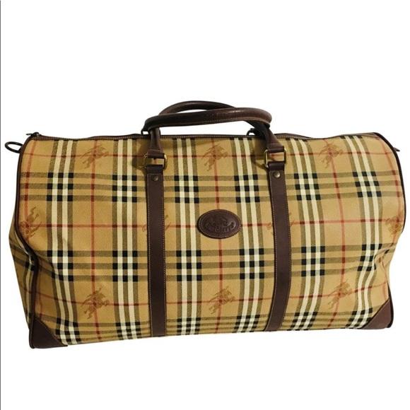 6b2936eb7cd0 Burberry Handbags - Burberry Nova Check Plaid Boston Weekender bag.